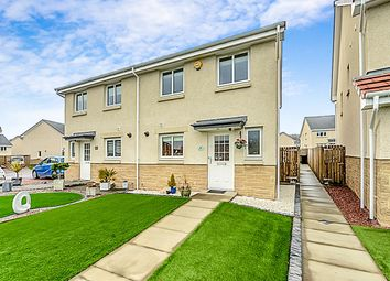 Thumbnail 3 bed semi-detached house for sale in Kinglas Drive, Dumbarton