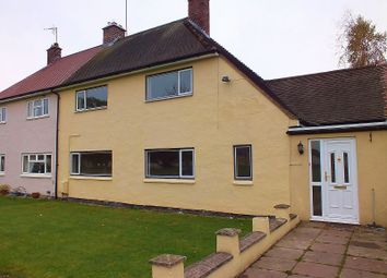 Thumbnail 3 bed terraced house for sale in The Oval, Pentre Maelor, Wrexham