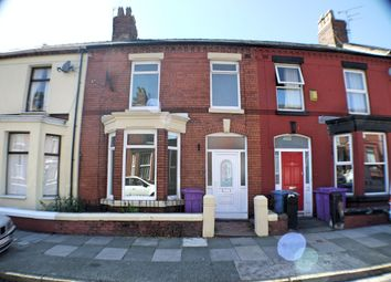 Thumbnail 3 bed terraced house to rent in Granville Road, Liverpool