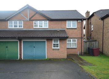 Thumbnail 4 bedroom link-detached house to rent in Rufus Isaacs Road, Caversham, Reading