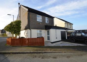 Thumbnail 3 bed link-detached house for sale in Crellow Fields, Stithians, Truro