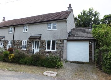 Thumbnail 2 bedroom semi-detached house to rent in Bathpool, Launceston