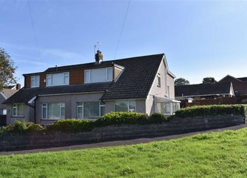 Thumbnail 4 bed semi-detached house for sale in Weig Fach Lane, Fforestfach, Swansea
