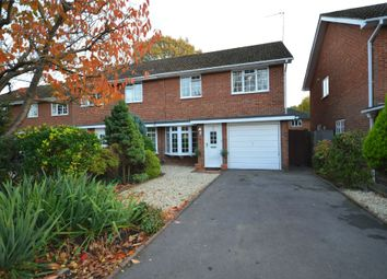 Thumbnail 3 bed semi-detached house for sale in Gloucester Close, Frimley Green, Camberley, Surrey