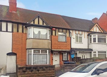 Thumbnail 3 bed terraced house for sale in Whitehall Road, Handsworth, Birmingham, West Midlands