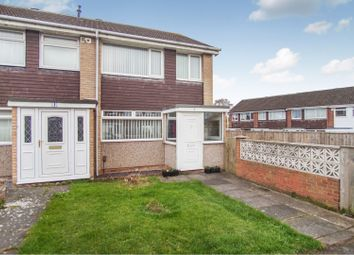 Thumbnail 3 bed end terrace house for sale in Kitching Grove, Darlington