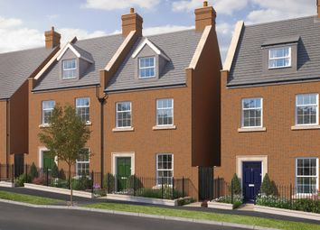 "Thumbnail 3 bed terraced house for sale in ""The Kennford"" at Haye Road, Sherford, Plymouth"
