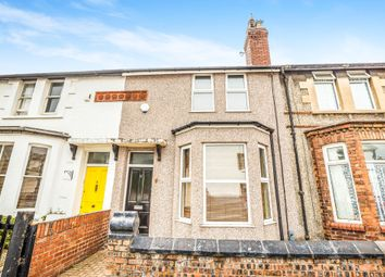 Thumbnail 2 bed terraced house for sale in Cable Road, Hoylake, Wirral
