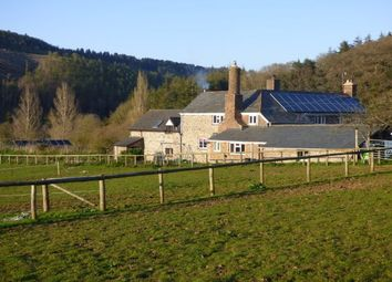 Thumbnail 4 bed farmhouse to rent in Dunster, Minehead