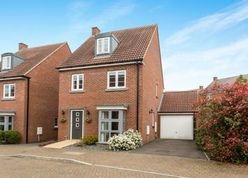 Thumbnail 3 bed detached house for sale in Taplin Close, Basingstoke