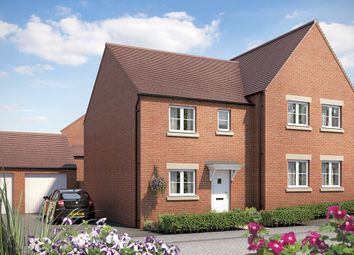 "Thumbnail 3 bed semi-detached house for sale in ""The Southwold"" at Longford Park Road, Bodicote, Banbury"
