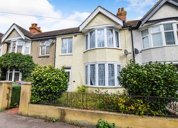 Thumbnail 3 bed terraced house to rent in Chart Road, Folkestone