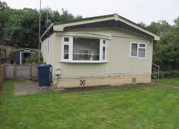 Thumbnail 1 bed mobile/park home for sale in Kingsmead Park (Ref 5737), Elstead, Godalming, Surrey