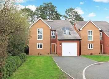Thumbnail 4 bed detached house for sale in The Woodlands, Admaston Road, Wellington, Telford