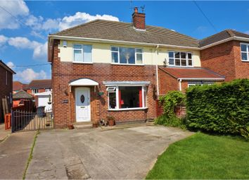 Thumbnail 3 bed semi-detached house for sale in Station Road, Waddington, Lincoln