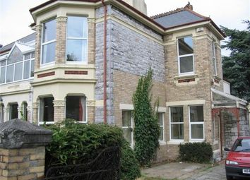Thumbnail 6 bed town house to rent in Queens Road, Greenbank, Plymouth