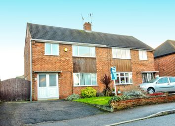 Thumbnail 3 bed semi-detached house for sale in Roman Bank, Mansfield Woodhouse, Mansfield