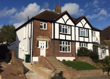 Thumbnail 3 bed semi-detached house for sale in Cobton Drive, Hove