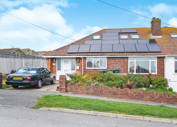 Thumbnail 3 bedroom bungalow for sale in Bevendean Avenue, Saltdean, Brighton