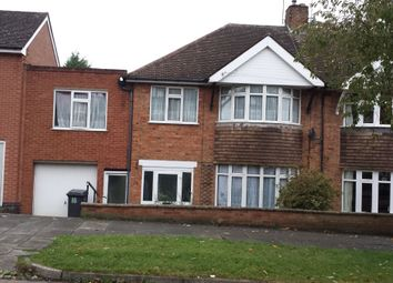 Thumbnail 4 bed semi-detached house for sale in Valentine Road, Leicester