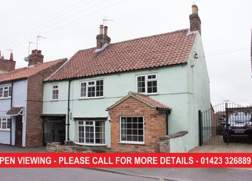 Thumbnail 3 bedroom cottage for sale in Marton Cum Grafton, York
