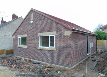 Thumbnail 2 bed detached bungalow for sale in Off Sherwood Street, Bolsover, Chesterfield