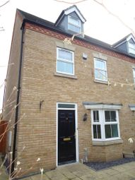 Thumbnail 4 bed town house to rent in Owl Close, Witham St. Hughs, Lincoln