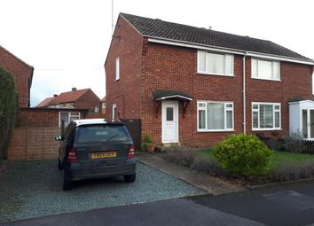 Thumbnail 2 bed semi-detached house to rent in Wray Close, Beverley