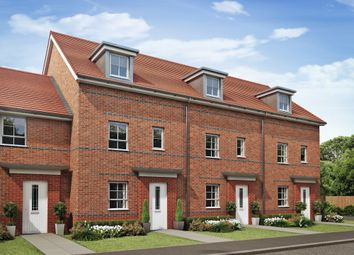 "Thumbnail 4 bed end terrace house for sale in ""Woodcote"" at South Close, Alsager, Stoke-On-Trent"