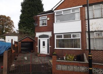 Thumbnail 3 bed semi-detached house for sale in Hope Avenue, Stretford, Manchester, Greater Manchester