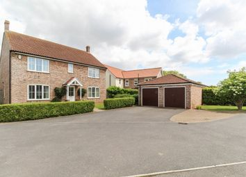 Thumbnail 4 bed detached house for sale in Giles Close, Old Leake, Boston
