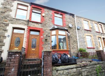 Thumbnail 3 bed terraced house for sale in Victoria Street, Brigend, Mid Glamorgan