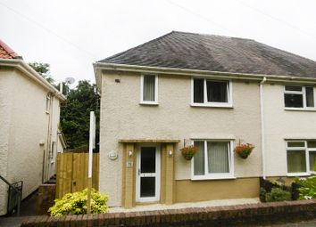 Thumbnail 2 bedroom semi-detached house for sale in Lon Tanyrallt, Alltwen, Pontardawe.