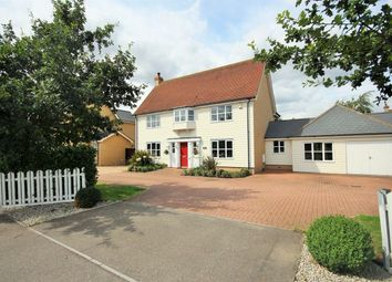 Thumbnail 4 bed detached house for sale in Mill Road, Colchester, Essex