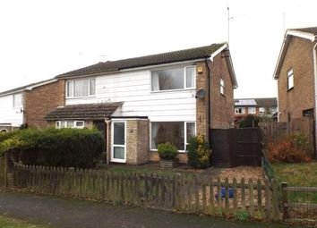 Thumbnail 3 bed semi-detached house for sale in Rutland Walk, Market Harborough, Leicestershire, .