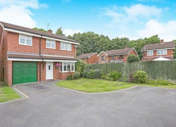 Thumbnail 4 bed detached house for sale in Brunel Grove, Perton, Wolverhampton
