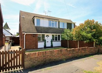Thumbnail 3 bed semi-detached house for sale in Linden Way, Canvey Island, Essex