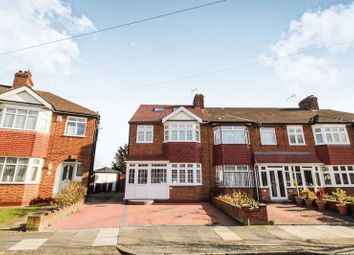 Thumbnail 5 bed semi-detached house for sale in Lynmouth Avenue, Enfield