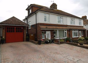 Thumbnail 4 bed semi-detached house for sale in First Avenue, Newhaven, East Sussex