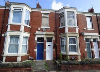Thumbnail 2 bedroom flat for sale in Warton Terrace, Heaton, Newcastle Upon Tyne
