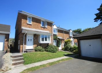 Thumbnail 3 bed end terrace house for sale in Hallett Close, Latchbrook, Saltash