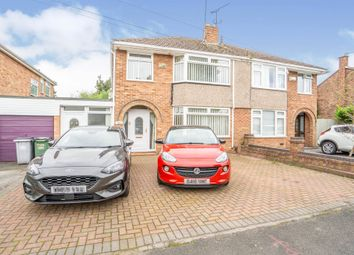 Thumbnail 4 bedroom semi-detached house for sale in Gorsefield Avenue, Bromborough, Wirral