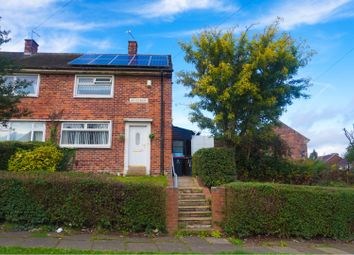 Thumbnail 2 bed semi-detached house to rent in Bents Road, Rotherham
