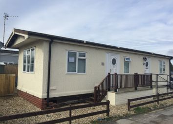 Thumbnail 2 bed mobile/park home for sale in Colliery Lane, Gladstone Way, Mancot Deeside, Flintshire