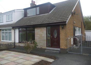 Thumbnail 2 bed bungalow to rent in Maplewood Avenue, Poulton-Le-Fylde, Lancashire