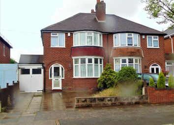 Thumbnail 3 bed semi-detached house for sale in Yateley Avenue, Great Barr