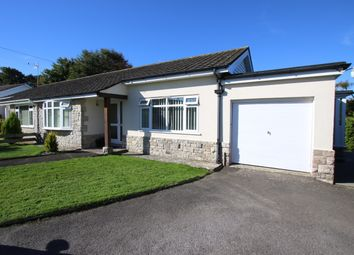 Thumbnail 2 bed semi-detached bungalow to rent in Knollsea Close, Swanage