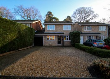Thumbnail 4 bedroom link-detached house for sale in Cambrian Close, Camberley, Surrey