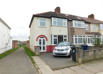 Thumbnail 3 bed end terrace house for sale in Mornington Road, Greenford, Middlesex