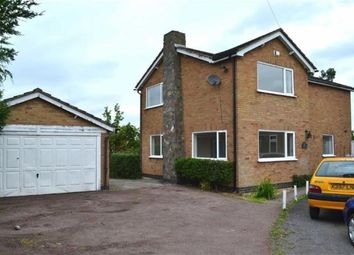 Thumbnail 4 bed detached house for sale in Sports Road, Glenfield, Leicester